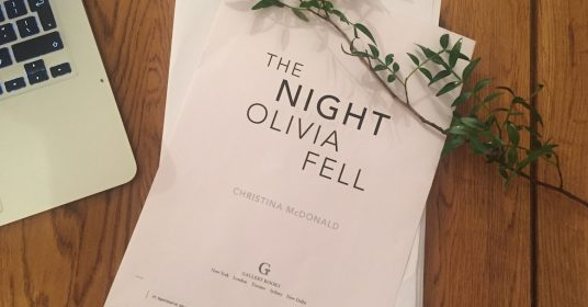 Writing The Night Olivia Fell